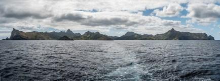 Silhouette de Rapa Iti, Îles Australes