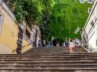 Scalinata dei Borgia, Monti, Rome