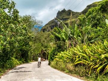Raivavae, tour de l'île