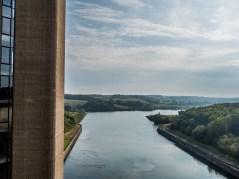 Barrage de la Plate Taille, Lacs del'Eau d'Heure