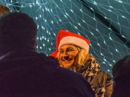 Mons, coeur en neige : inauguration avec l'organisateur, David Jeanmotte