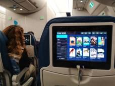 A bords d'un avion French Blue pour Tahiti