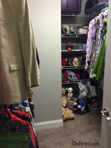 After full closet view