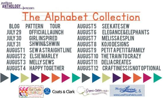 Alphabet Collection Blog Tour