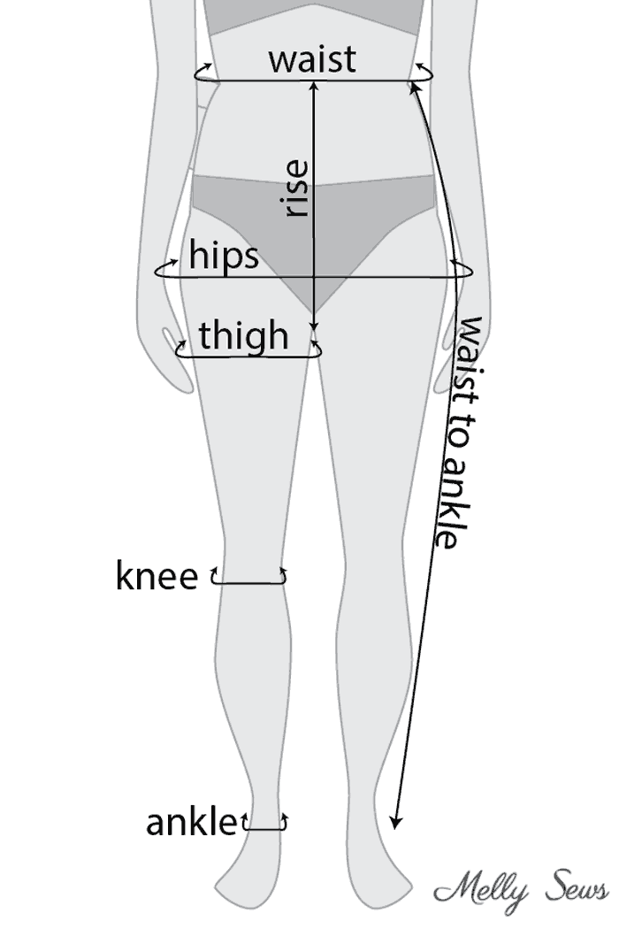 Leggings Sewing Pattern : leggings, sewing, pattern, Leggings, Pattern, Melly