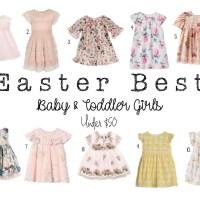 Easter Best- Baby & toddler girls