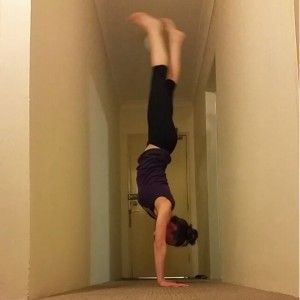 handstand legs together