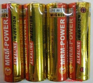 Пальчиковые батарейки mrm-power