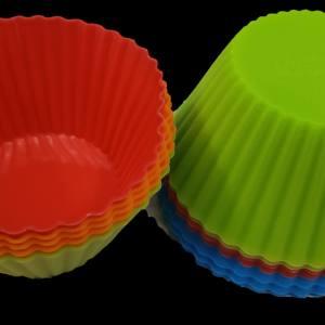 Формы для кексов силиконовые