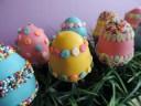 Easter egg cake pops 1