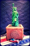 statue of liberty cake