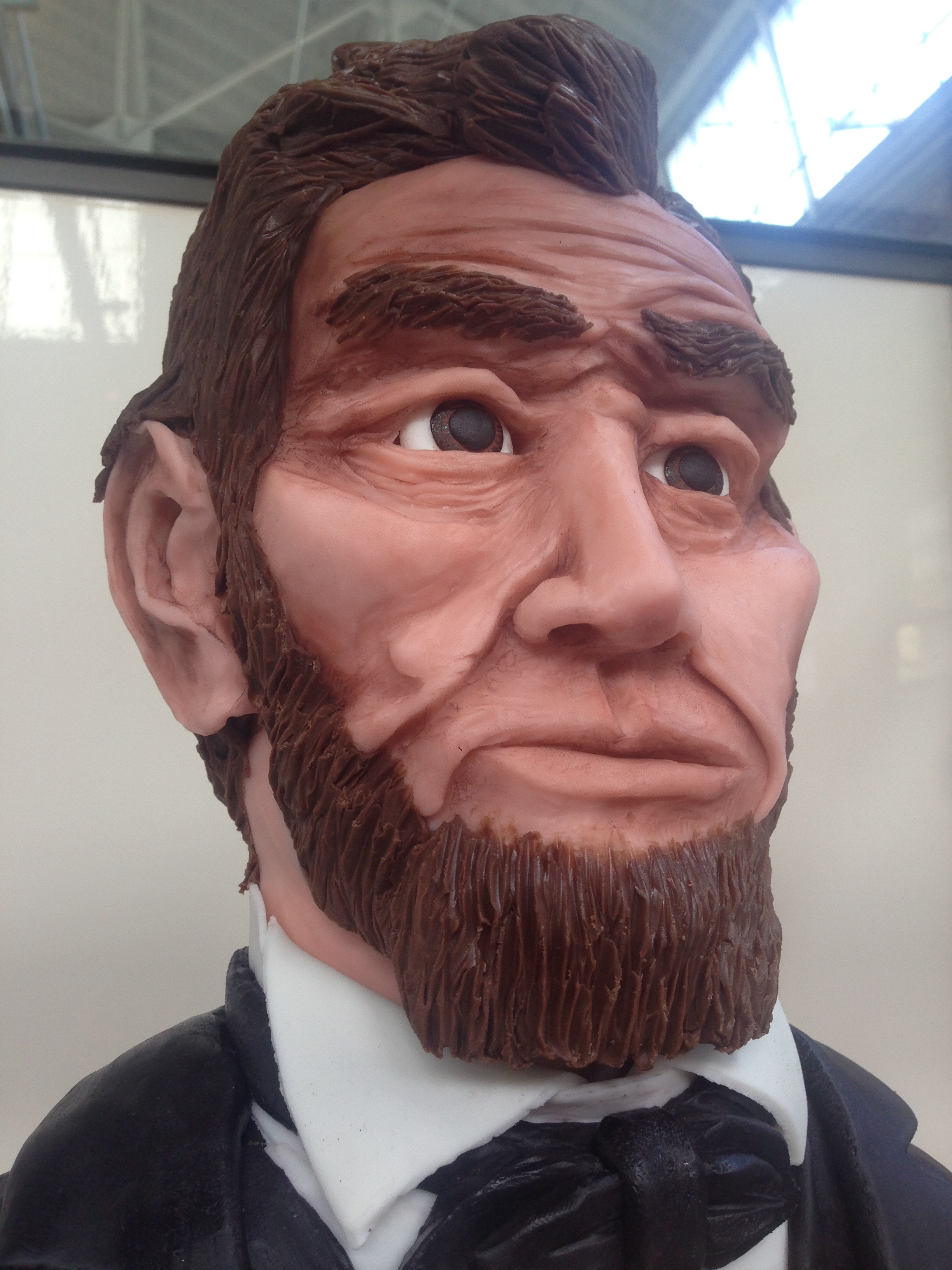 Abraham Lincoln The Modeling Chocolate Man  Meloda