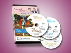 Sing Along Music for Seniors, 3 DVD set