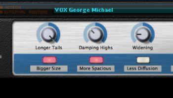 My VOX George Michael reverb patch for Reason (Factory Sounds)
