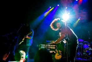 Blind Melon joined by Miller& SpaceWords filled theLafayette Theater inLafayette, Indiana two nights in a row onDecember 31, 2015 & January 1, 2016. Photo cred Melodie Yvonne