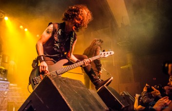 SiriusXM Radio and Dahlia Presents: Anthrax, Killswitch Engage, and HAVOK was an incendiary evening at the Egyptian Room at Old National Centre in Indianapolis, Indiana on Saturday, February 3, 2018. Photo cred Melodie Yvonne