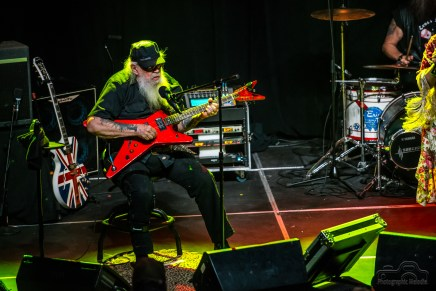 David Allan Coe with the help of Levi Riggs delivered an extraordinary show to a packed house at the Lafayette Theater in Lafayette, Indiana on March 31, 2018. Photo cred Melodie Yvonne
