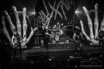 I Prevailwith Skyharborand Fight Like Sin packed the house for an amazing show at the Lafayette Theater in Lafayette, Indianaon May 19, 2018. Photo cred Melodie Yvonne