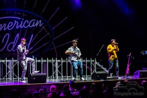 Forever In Your Mind warms up the stage for the American Idol Live Tour with special guest Kris Allen at Old National Centre on August 22, 2018