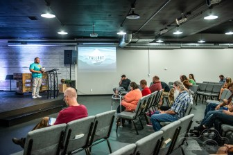 11:15 Sunday morning service at CityLife Church in Greenwood, Indiana on August 12, 2018
