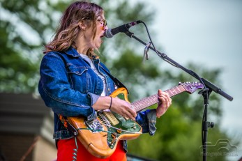 Liz Cooper & The Stampede heat up the stage for Mt. Joy and Houndmouth at the Nickel Plate District Amphitheater in Fishers on August 24, 2018
