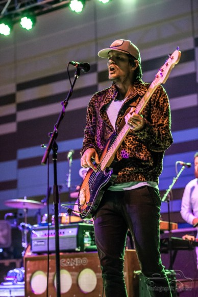 Houndmouth plays a phenomenal show at the Nickel Plate District Amphitheater in Fishers on August 24, 2018