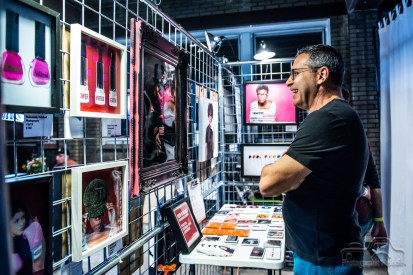 Art lovers indulged their senses at the Coca Cola Bottling Plant on Mass Ave during ORANJE on September 22, 2018