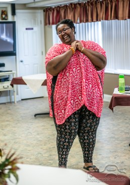 Ariane Cyusa performs a stunning spoken word set at Hickory Creek on September 4, 2018