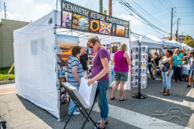 It was a beautiful day as art lovers and artists alike enjoyed the Fountain Square Art Fair on September 15, 2018