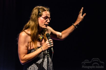 Iconoclast Poetry Open Mic at the Irving Theater in Indianapolis, Indiana on September 6, 2018