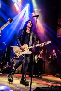 Cinderella's Tom Keifer with MotorChief & Sacred Leather invade The Vogue Theatre on August 31, 2018