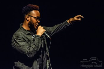 Iconoclast Poetry Open Mic hosted by Devon Ginn at the Irving Theater in Indianapolis, Indiana on October 4, 2018