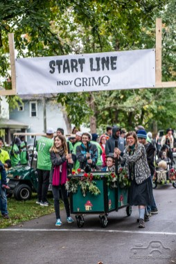 A motley costume clad crowd came out in droves to celebrate the spooktacular holiday at the Irvington Halloween Festival on Saturday, October 27, 2018