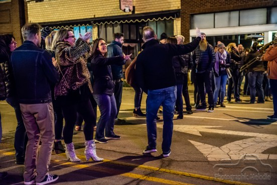 Tonic Ball presented by Eskenazi Health was a beautiful night of fun to benefit Second Helpings and celebrate local artists with music by Johnny Cash, Elton John, ABBA, Pearl Jam, and Beyonce on November 16, 2018 throughout Fountain Square