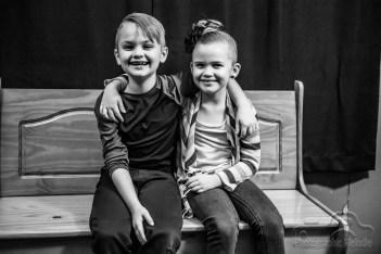 Joslin family portraits in North Vernon, Indiana on November 11, 2018