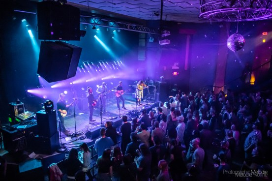 Yonder Mountain String BandwithFireside Collectiveput together an evening full of extravagant musical wonders at The Vogue Theatre in Indianapolis, Indiana on Thursday, March 14, 2019. Photo cred Melodie Yvonne