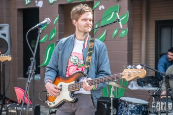Record Store Day was a beautiful celebration of music and supporting local at record shops all across Indianapolis on Saturday, April 13, 2019. Music fans enjoyed many talented artists behind Luna Music throughout the day.