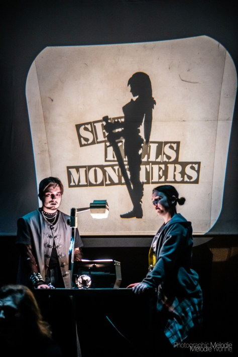 Purdue Theatre's production of She Kills Monster by Qui Nguyen and Directed by Amy Lynn Budd is an epic fantasy adventure that pulls on real heartstrings thanks to a phenomenal cast. Show runs April 12, 13, 17, 18, 19, 20 at 7:30 and 14 at 2:30 at the Nancy T. Hansen Theatre in Yue-Kong Pao Hall of Visual and Performing Arts. Photo cred Melodie Yvonne