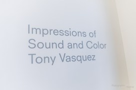 """411's third exhibition, """"Impressions of Sound and Color"""", featured work by Tony Vasquez and the Nomad Art and Visual Communications Students of Ivy Tech Community College. The reception for the exhibition was a packed house as many fans of Vasquez extraordinary work showed up to support the prodigious artist on Thursday, April 4, 2019 at the 411 Gallery. Photo Cred Melodie Yvonne"""