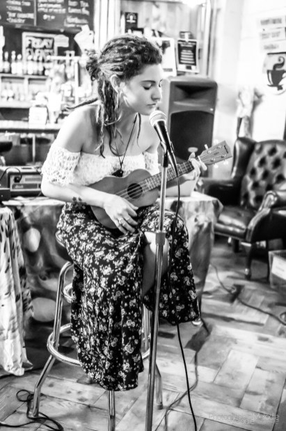 Discovery Open Mic brought many amazingly talented artists to Coal Yard Coffee on Saturday, June 1, 2019. Photo cred Melodie Yvonne