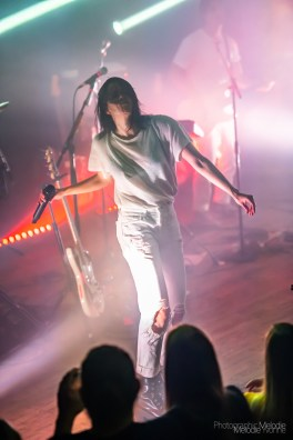 K. Flay with Moxxie presented by Indy CD & Vinyl was an amazing live experience at The Vogue Theatre on Monday, June 10, 2019. Photo cred Melodie Yvonne