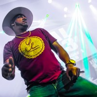 Mystikal Manifests Hip Hop Bounce House in Broad Ripple