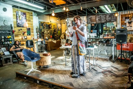 Discovery Open Mic manifested a plethora of amazing artists at Coal Yard Coffee on Saturday, August 3, 2019. Photo cred Melodie Yvonne