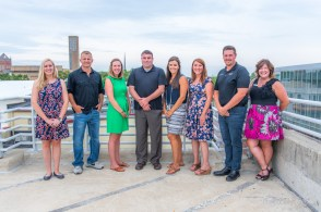 F.C. Tucker associates model during a promotional photo shoot in Columbus, Indiana on Monday, August 12, 2019. Photo credit Melodie Yvonne