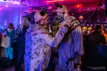 Thriller at the Theatre with the phenomenal DJ Marcus was Indy's biggest Halloween costume party and a hauntingly booo-tiful good time at The Vogue Theatre on Thursday, October 31, 2019. Photo cred Melodie Yvonne