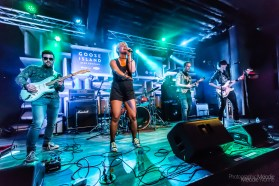 Abercorn performs for MOKB Presents 2019 Battle Of The Bands Round 1: Week 10 brought to you by Goose Island & Jack Daniel's Present at the Hifi in Indianapolis, Indiana on Wednesday, December 4, 2019. Photo cred Melodie Yvonne
