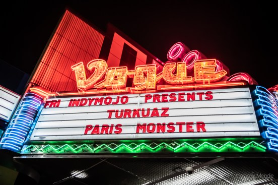 Turkuaz and Paris Monster brought a fierce evening of funkadelic jams to The Vogue Theatre in Indianapolis, Indiana on Friday, December 13, 2019. Photo cred Melodie Yvonne
