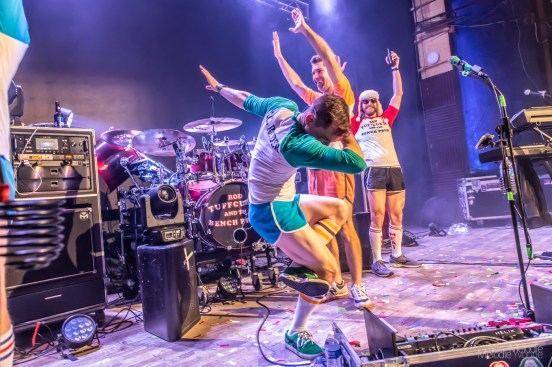 Rod Tuffcurls & The Bench Press created a glorious Holiday Extravaganza at The Vogue Theatre on Saturday, December 7, 2019. Photo cred Melodie Yvonne