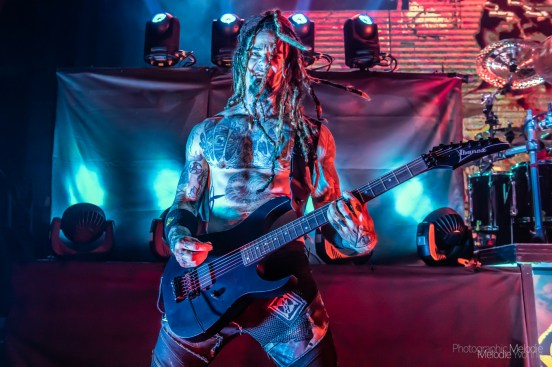 Machine Head powerfully delivered two electrifying sets at The Vogue Theatre in Indianapolis, Indiana on Tuesday, February 11, 2020. Photo cred Melodie Yvonne