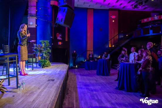 Casted's launch party was a beautiful evening featuring a phenomenal fireside chat, mingling, catering, and much more at The Vogue Theatre on Wednesday, February 5, 2020. Photo cred Melodie Yvonne